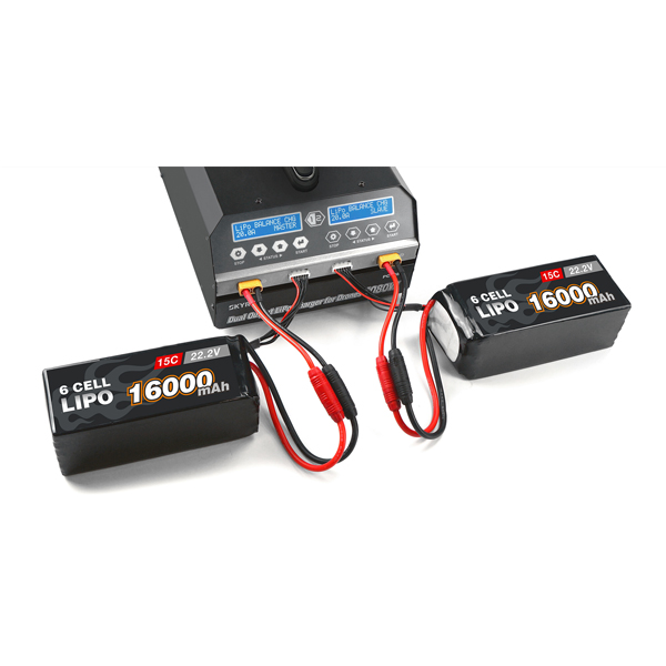 Dual Channel Drone Lithium Battery Charger