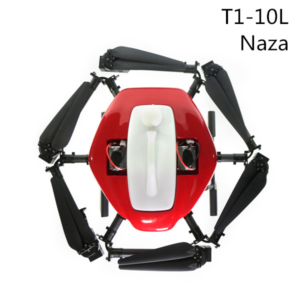 Agriculture Spraying Drone T1-10L Naza 2017